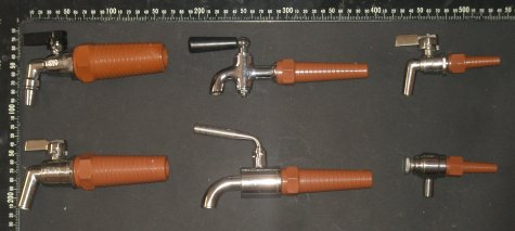 wooden barrel tapered fittings