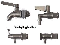 mini metal dispenser tap and spout