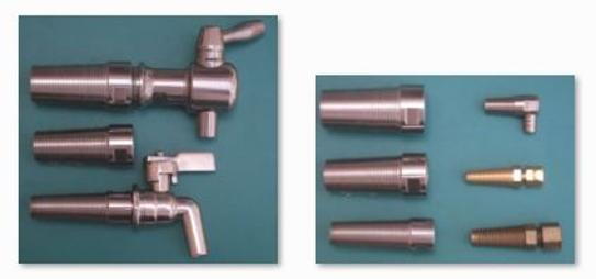 Stainless Steel Wooden barrel Adaptors