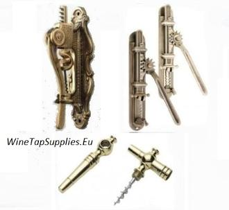 Wall Hanging Brass Cork openers